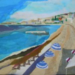 January Cote d'Azur, 30x36""