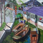 The No. 1 Water Town in China, 30x30""