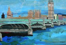 Westminster Bridge, 24x36""
